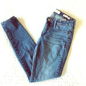 "Jessica Simpson ""kiss me super skinny"" jeans."